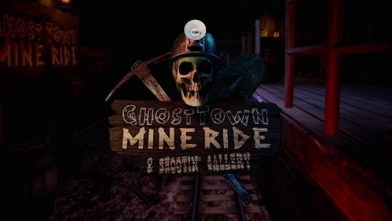 Ghost Town Mine Ride & Shootin Gallery